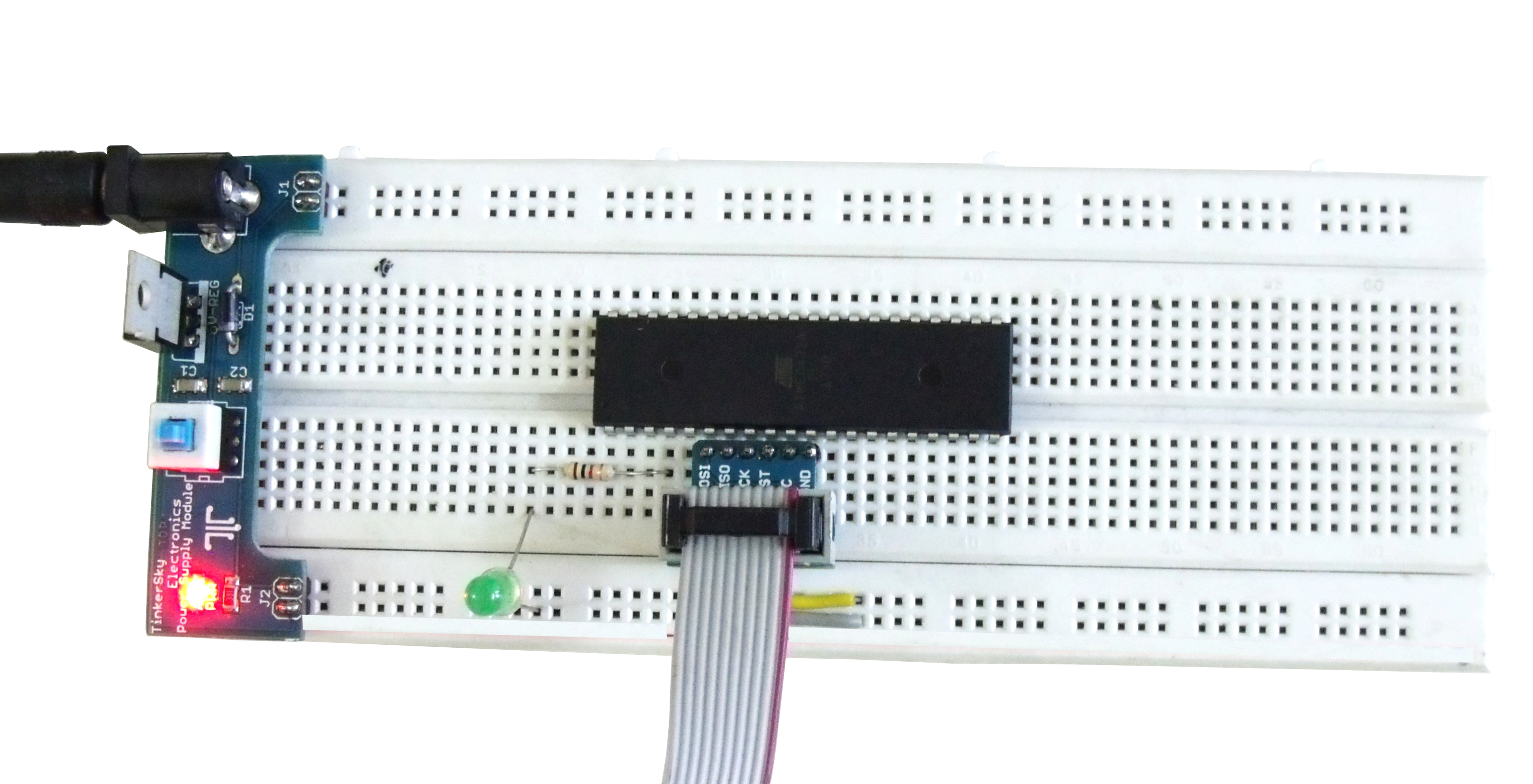 Pulse Width Modulation In Avr Atmega32a Microcontroller The Hardware Is Implemented By Using A Atmega88