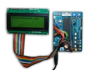 interface LCD with AVR Microcontroller