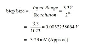 Calculate_ADC_Resolution_in_LPC2148_ARM7