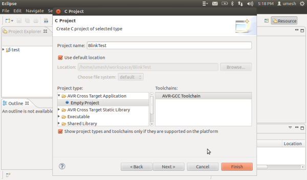 create-new-eclipse-project
